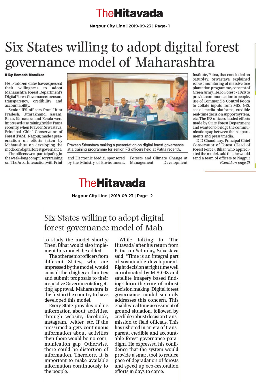 The Hitavada 23-09-2019